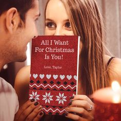 The Christmas gift that will have them fall in love all over again! Create your own personalized gift book that lists all the reasons why you love someone.