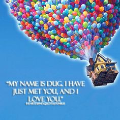 Great quote from #Disney Pixar Up movie
