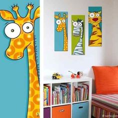 mdf pictures vinyl printing modern children's decoration – Wall Pictures Painting For Kids, Art For Kids, Art Fantaisiste, Baby Art, Whimsical Art, Pics Art, Nursery Art, Watercolor Art, Decoration