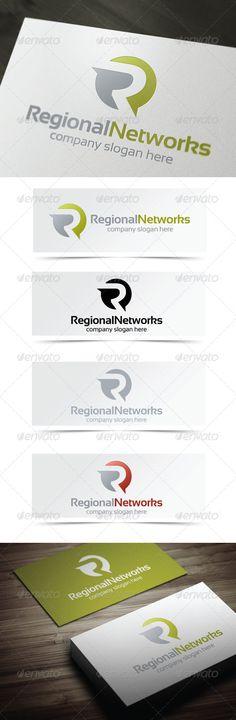Regional Networks - Logo Design Template Vector #logotype Download it here: http://graphicriver.net/item/regional-networks/4135189?s_rank=66?ref=nexion