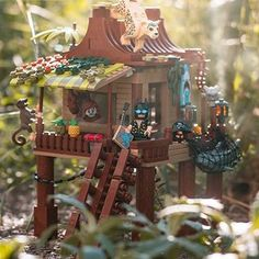 Brick Explorer 🍉さん(@brickexplorer) • Instagram写真と動画 Legos, Lego Creationary, All Lego, Lego Mechs, Lego Minifigs, Lego Tree House, Lego Pictures, Amazing Lego Creations, Lego Spaceship