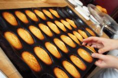 Fresh out of the oven! Can we tempt you with a #madeleine from Mandarin Oriental Pudong, Shanghai?