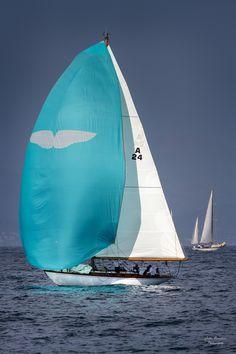Les voiles de St Tropez, Var -  Sail Away Blue Sail