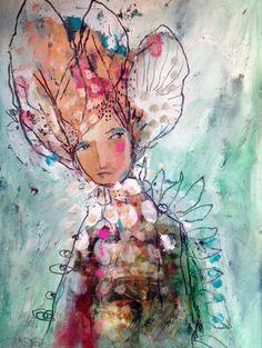 ABSOLUTELY LOVE THIS! Definitely feeling inspired! Departure by Juliette Crane - Heather Scott