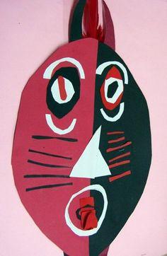 Iroquois False Face Masks - Artsonia Lesson Plan
