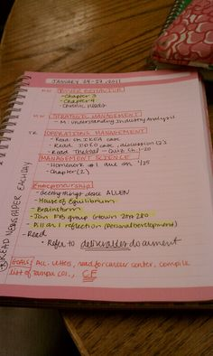 College Prep: INTENSE STUDY TIPS