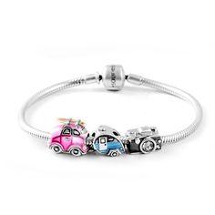 Travel Memories Bracelet 925 Sterling Silver~ SouFeel