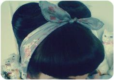 Victory Rolls! Pin-up, Rockabilly hair