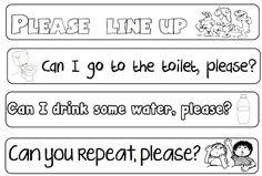 Gris Angels Tercero B: Study common Phrases Kids English, English Book, English Lessons, Learn English, Classroom Signs, Classroom Walls, Classroom Posters, English Classroom, Classroom Language