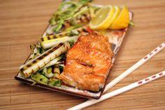 igloo cooking: salmón TERIKAKI