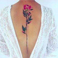 Peony tattoo   Pis Saro