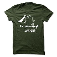 I AM A GARDENER - #gifts for boyfriend #gift for guys. GET => https://www.sunfrog.com/Hobby/I-AM-A-GARDENER-48977917-Guys.html?68278