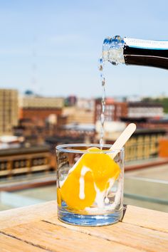 The Cocktail Terrace at Cincinnati is an oasis of throwback summer fun for the kid in all of us. Cincinnati Bars, Bourbon Beer, Museum Hotel, Alcoholic Drinks, Cocktails, Bar Lounge, Summer Fun, Oasis, Terrace