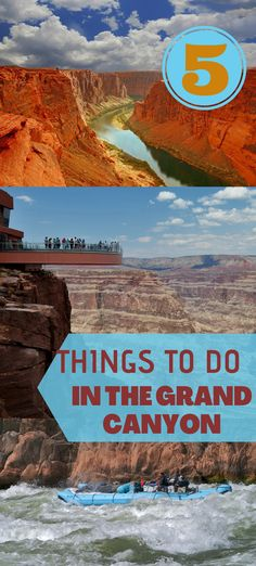 5 Things to do in the Grand Canyon