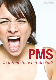 Get a handle on your PMS moodiness with this article.