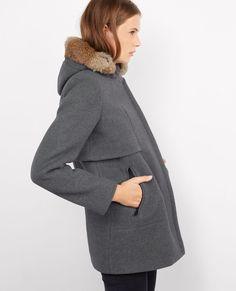 Parka avec laine à capuche Medium heather grey Balex