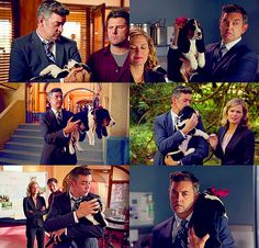 Lassie Jr <3 Saddest episode of Pysch ever D: I don't watch this show, but this is too sweet