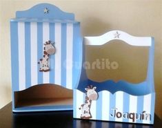 Set de porta cosmeticos y pañalera para bebe. Diseño Jirafa Mod Melts, Kit Bebe, Ideas Para, Baby Room, Toy Chest, Toddler Bed, Nursery, Baby Shower, Diy Crafts
