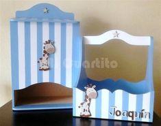 Set de porta cosmeticos y pañalera para bebe. Diseño Jirafa Mod Melts, Kit Bebe, Ideas Para, Toy Chest, Toddler Bed, Nursery, Baby Shower, Diy Crafts, Country