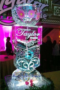 Taylor made Martini Spigot 2 Ice Sculpture