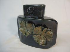 Handmade Geranium leaf vase - Michael MacDonald