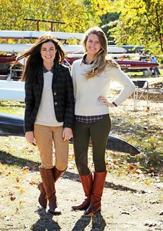 yes yes yes...  Head of the Charles Regatta 13 - Classy Girls Wear Pearls