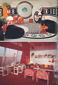 Vintage Home Decor Book Retro MidCentury Modern