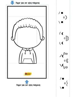 Toddler Worksheets, Toddler Activities, Diy For Kids, Crafts For Kids, Counseling Activities, Baby Learning, Early Education, Interactive Notebooks, Human Body