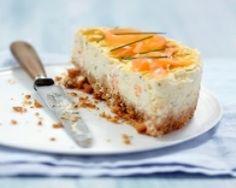 Cheesecake de Carré Frais au saumon fumé (facile, rapide) - Une recette CuisineAZ