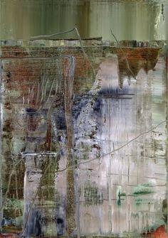 Richter,  Abstraktes Bild  Abstract Painting  2005  113.5 cm x 72 cm  Oil on canvas  Catalogue Raisonné: 891-3