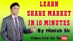"""Click here & watch video: https://youtu.be/_EQ6c7tKfIY   """"LEARN SHARE MARKET IN 10 MINIT... 10 मिनिट में SHARE MARKET सिखये. """"   Here you will learn: Learn share market with some small tools. Three types of market segments - Cash, future & debt. What is Intraday & Delivery?  Do like the video and  feel proud to share this video for the benefit of others   Thank You Dhanashri Academy.  For more information  Call Us On +91 7045654722 Subscribe our youtube channel…"""