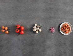 Άλλη μια γρήγορη συνταγή: καγιανάς με μανιτάρια!