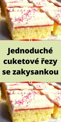 Vanilla Cake, Food To Make, Cheesecake, Homemade, Sweet, Desserts, Recipes, Candy, Tailgate Desserts