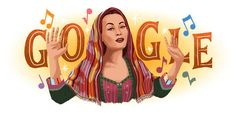 Yes!  Yma Sumac gets a Google Doodle!