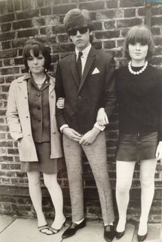 vintage everyday: MOD: Fashion Characteristic of British Young People in the 60s And 70s Fashion, Retro Fashion, Vintage Fashion, British Fashion, Biba Fashion, Fashion Women, Skinhead Fashion, British Style, 1960s Britain