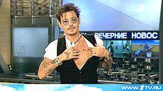 Johnny Depp showing his tattoos in Russian interview - Johnny Depp Fan Art (35139648) - Fanpop