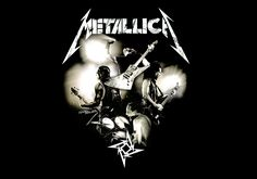 Background Metallica Logo Band Rock Wallpapers HD Picture