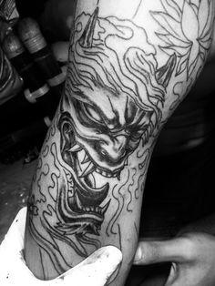 #hannya #mask #devil #japanese #tattoo