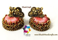 Silk thread jhumkas – Khushi Handicrafts Silk Thread Earrings Designs, Silk Thread Jhumkas, Thread Jewellery, Key Tags, Ball Chain, Designer Earrings, Crystal Earrings, Handicraft, Handmade Jewelry