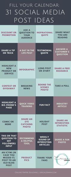 content ideas #Socialmediameasurement