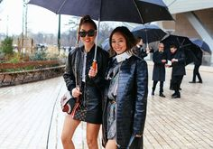 Phil Oh's Best Street Style Pics From Paris Fashion Week Street Look, Street Style, Top Show, Paris Fashion, Cool Style, Cute Outfits, Winter Jackets, Fashion Outfits, Tops