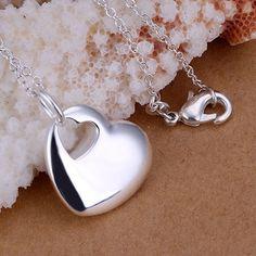 wholesale 925 silver pendant necklace silver jewelry necklace 925 necklace 925 sterling silver charm necklace jy