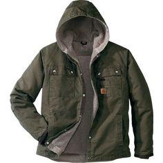 Carhartt® Hooded Multipocket Jacket — Regular at Cabela's