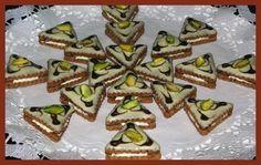 Čokoládové trojhránky s mátovým likérem