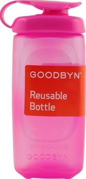 Goodbyn Flask - pink `One size Fabrics : Plastic Composition : No BPA, phtalates, lead or organic tin compounds, 100% Vinylon Color : Pink Volume : 236 ml Authorised dish washer (upper basket) Details : Goodbyn donates 1% of their http://www.comparestoreprices.co.uk/january-2017-7/goodbyn-flask--pink-one-size.asp
