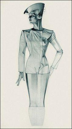 Deco Future: The Seductive Draftsmanship of George Stavrinos