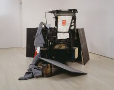 FASHION – SCULPTURE – COOKING:  Terremoto by Joseph Beuys - ©2016 Artists Rights Society (ARS), New York/VG Bild-Kunst, Bonn