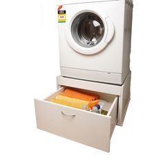 Find Bedford White Front Loading Washing Machine Stand at Bunnings Warehouse. Visit your local store for the widest range of storage & cleaning products. Storage Furniture, Washing Machine, Laundry Cabinets, Freezer Repair, Laundry Pedestal, Washing Machine Stand, Cleaning Curtains, Washing, Kitchen Organisation