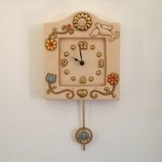 Thun on pinterest ceramica key rings and wall clocks for Orologi da parete thun