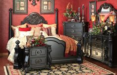 Hemispheres Furniture Store Vellasca Bedroom